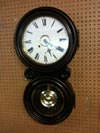 Ingraham Figure 8 Wall Clock